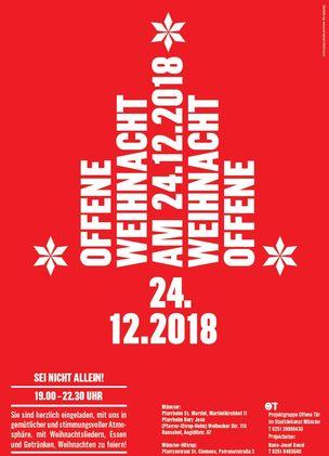 Offene Weihnacht - Stadtdekanat Münster
